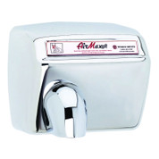 World Dryer DXM5-972 AirMax Hand Dryer, Automatic, Polished Stainless Steel