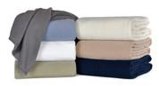 Berkshire Microloft Fleece Blanket, 90x90 Full/Queen