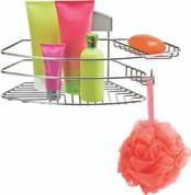 Better Living STORit Combo Shower Basket, Stainless Steel
