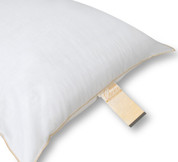Super Gold Choice Hospitality Pillow, Standard, 24 oz. Fill, 12 per case, Price Per Each