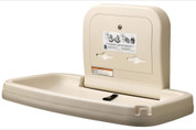 Koala Kare KB200-00 Horizontal Wall Mounted Baby Changing Station, Cream Color