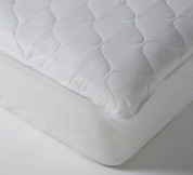 "Ultimate Comfort Choice Deluxe Quilted Mattress Pad, Queen 60x80, 12""- 18"" Expandable Skirt, 10 Per Case, Price Per Each"