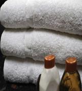 Oxford Silver Merlin Bath Mat 20x30, 7 lb. 86% Cotton 14% Polyester,  White, 1 dozen