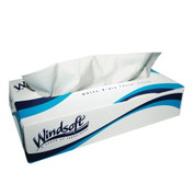 Windsoft 2 Ply Facial Tissue, Case of 30