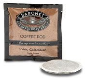 Baronet Coffee Decaf Colombian 1-Cup Coffee Pods 100ct