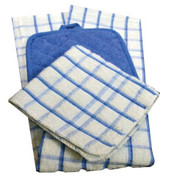 Oxford Kitchen Towels, 15 X 25, 100% Cotton, 1 dozen