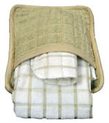 Oxford Premium Pot Holder with Pocket, Tan, 1 dozen
