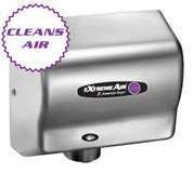 American Dryer ExtremeAir CPC9-SS Cold Plasma Clean Hand Dryer, Heated, Stainless Steel