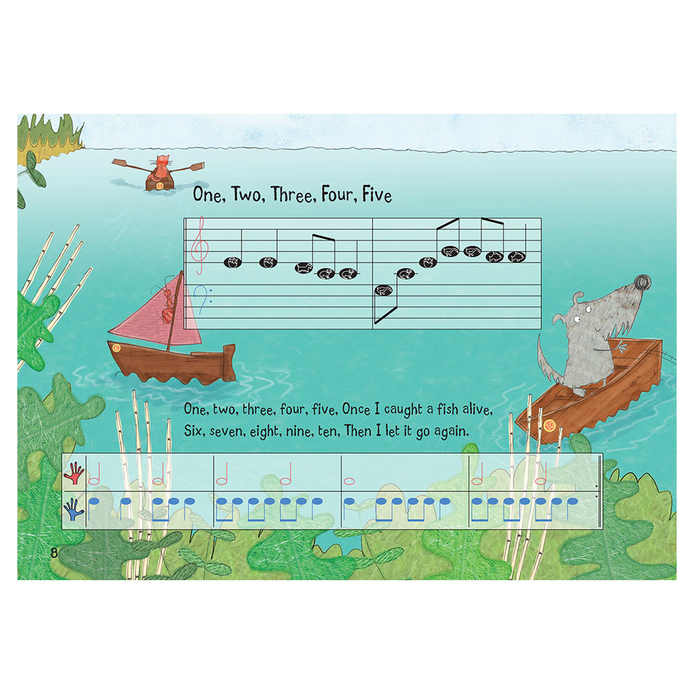 Nursery Rhyme/Famous Melodies (Animal Note Edition) Page 8