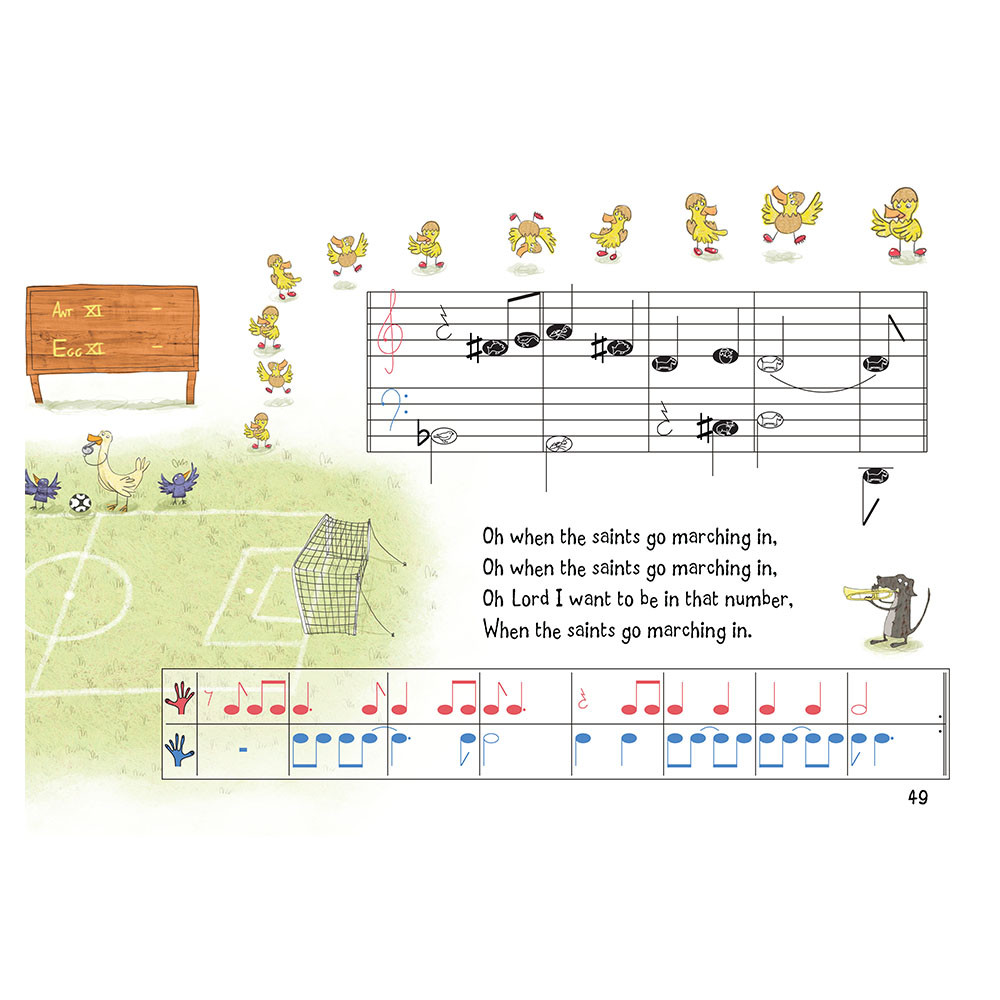 Nursery Rhyme/Famous Melodies (Animal Note Edition) Page 49