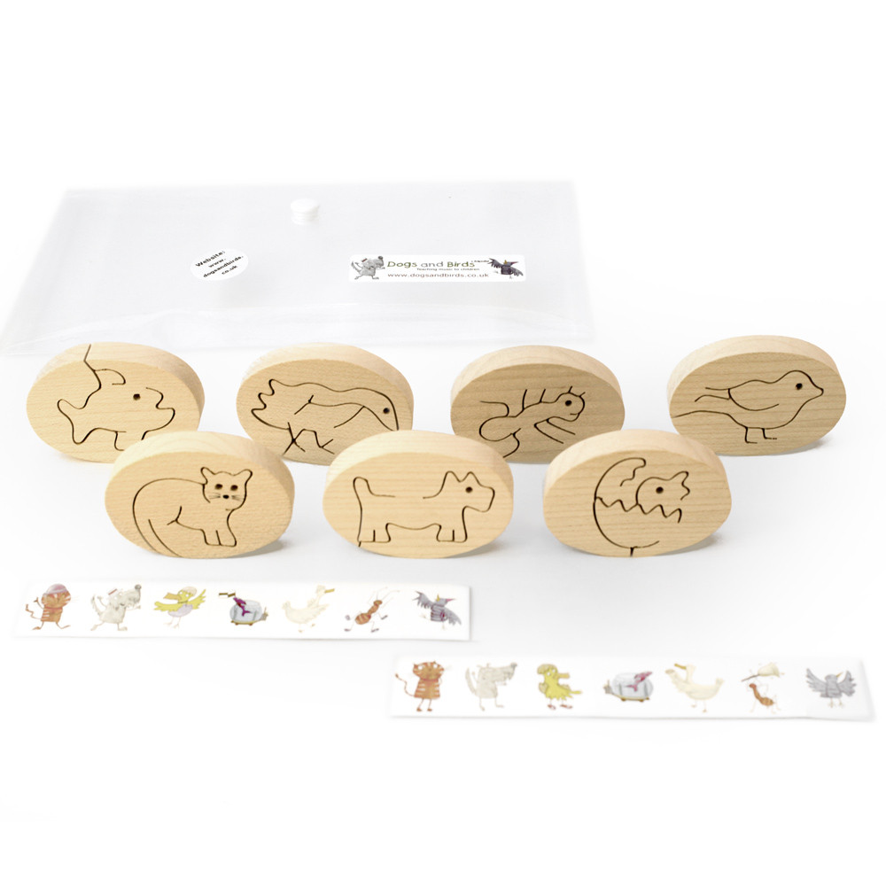 Toy Wooden Animals (DB-004) 2