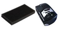 Respironics Pre-Legacy BIPAP Black Foam Intake Filter 5-Pak