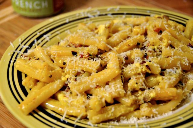 how to make carbonara with a french twist