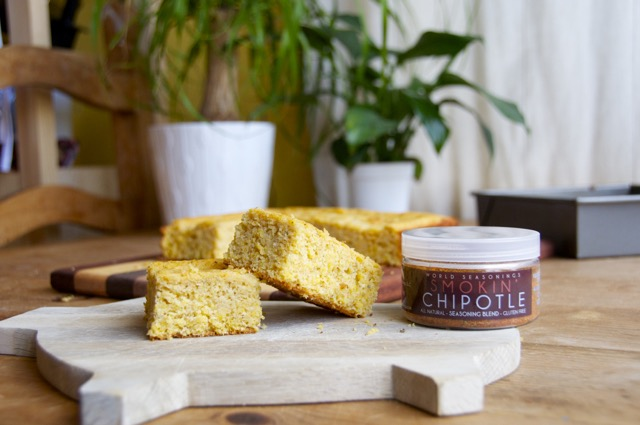 how to make smokin chipotle cornbread