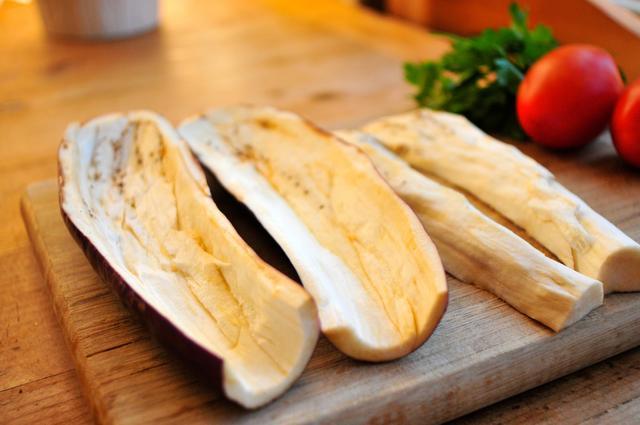 eggplant boats