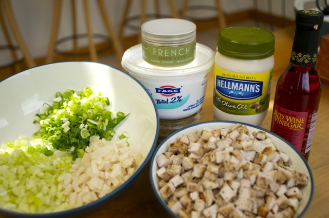 ingredients for everyday chicken salad