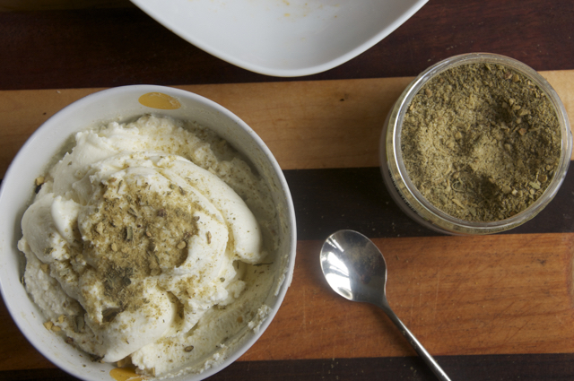 fresh ricotta cheese with french made easy seasonings