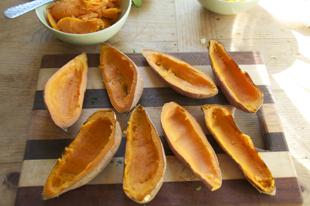 sweet potato boat