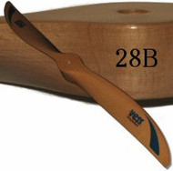 28B wood propeller