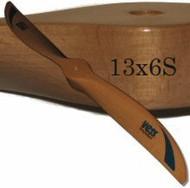 13x6 wood propeller