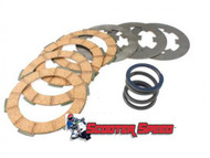 Vespa Clutch Friction Plate/Spring Kit Surflex V90/PK (B38-93075000)