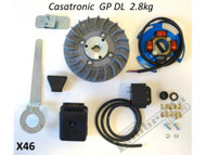 Lambretta Ignition Kit CasaTronic Casa Pro - 2.8kg GP (DW-CPX46)