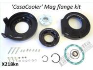 Lambretta Mag Flange/Flywheel Cover Kit CasaCooler Black Casa Pro (DW-CPX218KN)