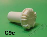 Lambretta Fuel Tank Cap White Casa LD/D (LD8-C9C)
