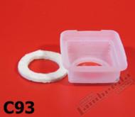Lambretta Fuel Tank Splash Cup/Felt Ring Set Casa (93-C93x)