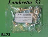 Lambretta Fender/Horncover/Legshield Hardware Kit S3 Casa (L0-36-B173)