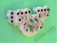 Lambretta Headlight Bulb Holder/Junction Casa DL/GP (89-E416)