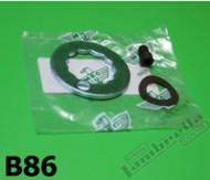 Lambretta Hub Rear Nut Lock Set Casa M7 S3 (L1I-B86)