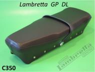 Lambretta Italian DL Seat Black S3 Casa (L0-C350)