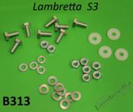 Lambretta Seat Bench Hardware Kit S1/2/3 Casa (L0-38-B313x)