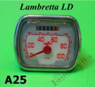 Lambretta Speedometer Complete Casa LD '57 (LD9-A25)