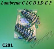 Lambretta Seat Spring Set Front Conical LD/D (51-56) Casa (LD27-C281)