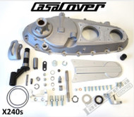 Lambretta Engine Side Cover CasaCover Silver (DW-CPX240S)