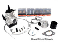 Lambretta SCK MRB Dellorto 25mm Carburetor Kit 200cc (KIT-7673643)