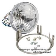 Lambretta JBS Halogen Headlight Assembly Serveta (SO-58009500)