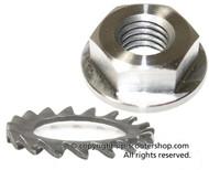 Vespa Clutch Nut Hex VSP M10 V90/PV (V2I-21214400)