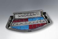 Lambretta Badge Horn Casting Innocenti Silver S2-3 Casa (9004-C182S)
