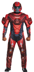 RED SPARTAN MUSCLE ADULT