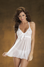 BABYDOLL RING BACK BLK