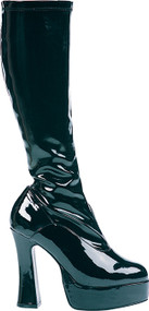 BOOT THRILL THIGH HIGH BLACK
