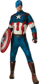 CAPTAIN AMERICA ADULT DLX