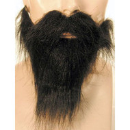 beard mustache black brown grey white elastic