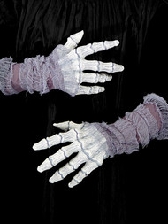 HANDS GAUZE GHOSTLY BONES