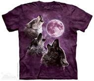 THREE WOLF MN IN PURPLE