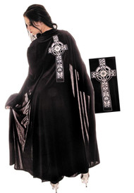 BLACK CELTIC CAPE