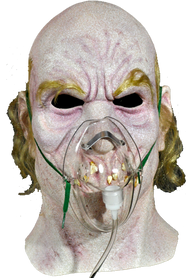 Front view of Dr. Satan mask
